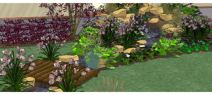 Case study gdpro garden design software for Learn landscape design